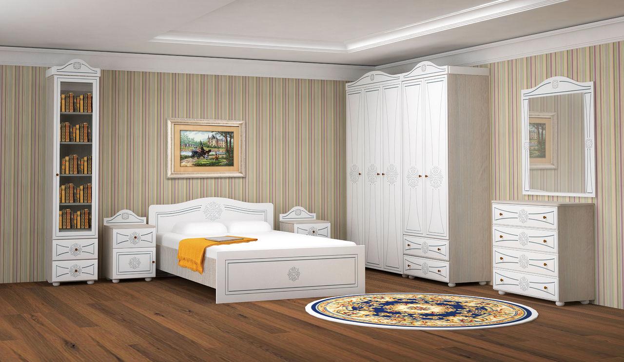 спальня онега комплектация 1 купить в интернет магазине топ мебель