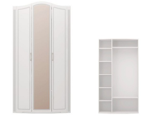 b9287700db954 Шкаф 3-х дверный с зеркалом Виктория 9 купить в интернет-магазине ...